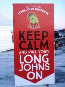 Banner for 2015 Long John Jamboree in Yellowknife