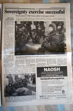 Nunavut News/North Monday April 27 inside page
