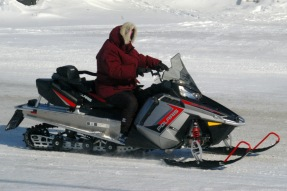 Newer snowmobile